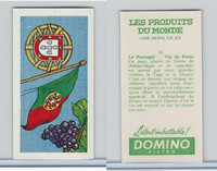 D0-0 Domino, Products of the World, Flags, 1961, #18 Portugal