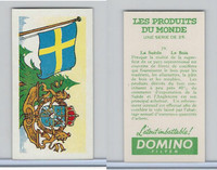 D0-0 Domino, Products of the World, Flags, 1961, #19 Sweden