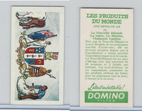 D0-0 Domino, Products of the World, Flags, 1961, #20 New Zealand