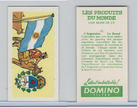 D0-0 Domino, Products of the World, Flags, 1961, #22 Argentina