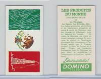 D0-0 Domino, Products of the World, Flags, 1961, #23 Mexico