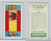 D0-0 Domino, Products of the World, Flags, 1961, #25 Spain