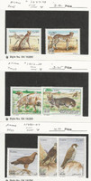 Algeria, Postage Stamp, #1347-8, 1412-3, 1485-7 Mint NH, 2005-10 Animals, JFZ