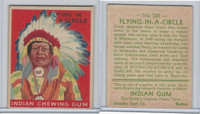 R73 Goudey, Indian Gum, Series 192, 1933, #133 Flying-In-A-Circle