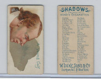N87 Duke Cigarettes, Shadows, 1889, A Young Calf (B)