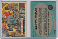 1957 Topps, Space Cards, #12 Briefing for Spaceflight (B)