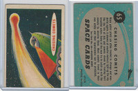 1957 Topps, Space Cards, #65 Chasing Comets (B)