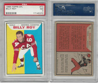 1965 Topps CFL Football, #73 Billy Roy, Montreal Alouttes, PSA 7 NM