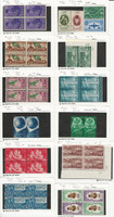 Egypt, Postage Stamp, #252//757a Blocks & Pairs Most Mint NH, JFZ