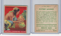 R73 Goudey, Indian Gum, Series 216, 1933, #153 Pottery Making