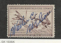United States, Postage Stamp, #RW20 Used, 1953 Duck Hunt, JFZ