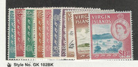Virgin Island, Postage Stamp, #146//157 Mint LH, 1964, JFZ