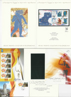 Greece, Postage Stamp, #2089-2092 First Day Covers 2004, JFZ