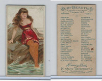 N232 Kinney, Surf Beauties, 1889, Atlantic City, New Jersey (B)