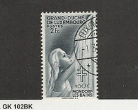 Luxembourg, Postage Stamp, #B104 Used, 1940, JFZ