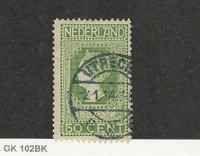 Netherlands, Postage Stamp, #97 Used, 1913, JFZ