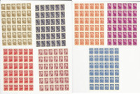 Russia, Postage Stamp, #2439//2448 Mint NH Sheets, 1961, JFZ
