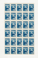 Russia, Postage Stamp, #C94 Mint NH Sheet, 1955 Airplane, JFZ