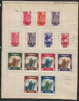 Cyrenaica, Postage Stamp, #C1-3, C4-C7, 59-64 Mint Hinged, 1932, DKZ