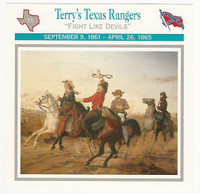 1995 Atlas, Civil War Cards, #74.17 Terry's Texas Rangers