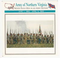 1995 Atlas, Civil War Cards, #81.17 Army of North Virginia