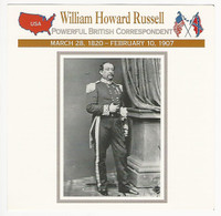 1995 Atlas, Civil War Cards, #82.19 William Howard Russell