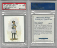 1992 Victoria, Uniforms American Civil War, #3 1st Virginia Cavalry, PSA 8 NMMT