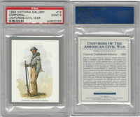 1992 Victoria, Uniforms American Civil War, #12 Confederate Infantry, PSA 9 Mint