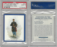 1992 Victoria, Uniforms American Civil War, #14 10th New York, PSA 9 Mint