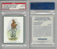 1992 Victoria, Uniforms American Civil War, #16 Wheat's Tigers, PSA 9 Mint