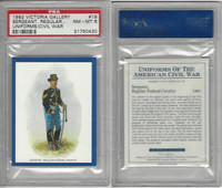 1992 Victoria, Uniforms American Civil War, #19 Federal Cavalry, PSA 8 NMMT