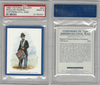 1992 Victoria, Uniforms American Civil War, #20 Infantry Drummer, PSA 9 Mint