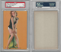 W424-2e Mutoscope, Hot-Cha Girls, 1943, A Miss Is As Good, PSA 5 EX