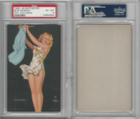 W424-2e Mutoscope, Hot-Cha Girls, 1943, Blue Monday, PSA 6 EXMT