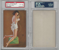 W424-2e Mutoscope, Hot-Cha Girls, 1943, Called In The Draft, PSA 6 EXMT