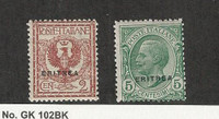 Eritrea - Italy, Postage Stamp, #88, 90 Mint NH, 1924, JFZ