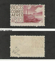 Mexico, Postage Stamp, #C213 Mint Hinged, 1953, DKZ