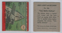 1942 R18 WS Corp, Army, Navy & Air Corp, #606 Take Battle Stations, ZQL