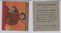 1942 R18 WS Corp, Army, Navy & Air Corp, #611 His First Meal in Ireland, ZQL