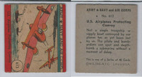 1942 R18 WS Corp, Army, Navy & Air Corp, #613 US Airplanes Convoy, ZQL