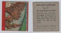 1942 R18 WS Corp, Army, Navy & Air Corp, #614 Army Comes To Miami, ZQL