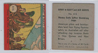 1942 R18 WS Corp, Army, Navy & Air Corp, #616 Home Safe After Bombing, ZQL