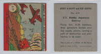 1942 R18 WS Corp, Army, Navy & Air Corp, #619 US Bombs Japanese, ZQL