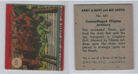 1942 R18 WS Corp, Army, Navy & Air Corp, #621 Camouflaged Filipino, ZQL
