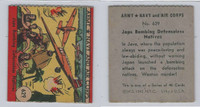 1942 R18 WS Corp, Army, Navy & Air Corp, #629 Japs Bombing Natives, ZQL