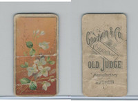 N164 Goodwin Cigarettes, Flowers, 1890, Clematis