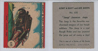 1942 R18 WS Corp, Army, Navy & Air Corp, #635 Jeep Jounces Japs, ZQL