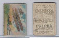 T28 Oxford Cigarettes, Aeroplane Series, 1910, Wright Brothers
