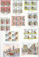 Gambia, Postage Stamp, #1004-11 Blocks, 1012-3 Sheets Mint NH, Disney, JFZ