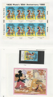 Grenadines, Postage Stamp, #428-429 Mint NH, 1981, Disney, JFZ
